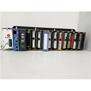 Honeywell HC900 12 Slot Rack w/ 900C50-0360-00, 900H02-0202, 900H01-0202, & More