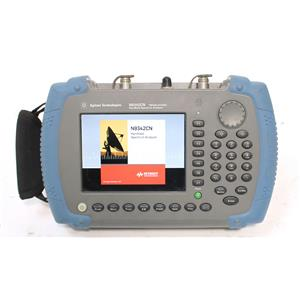 Keysight Agilent N9342C N 6GHz HSA Handheld Spectrum Analyzer OPT P06