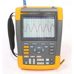 Fluke 190-202 ScopeMeter 2.5GS/s 2 Channel 200MHz Oscilloscope