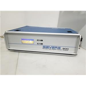 Sievers 800 Portable Total Organic Carbon Analyzer TOC 800/120V