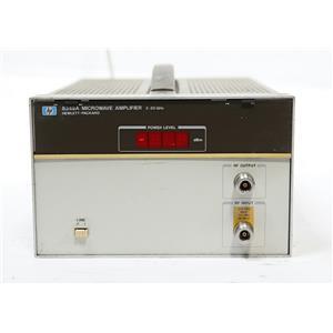 HP / Agilent 8349A Microwave Amplifier 2 GHz - 20 GHz