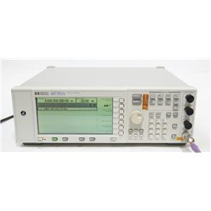 HP Agilent E4422A /  ESG 4000A 250kHz - 4GHz Analog RF Signal Generator