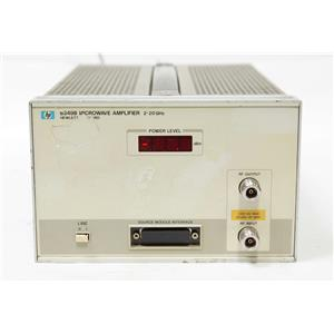 HP Agilent 8349B Microwave Amplifier 2 to 20 GHz