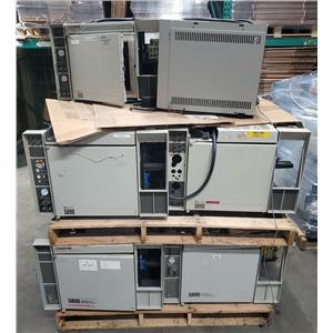 HP 5890 SERIES II GS CHROMATOGRAPH