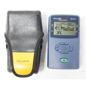 Fluke NetTool 10/100 Inline Network Connectivity Tester with Case
