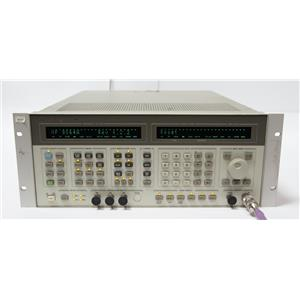 HP 8664A Synthesized Signal Generator .1 - 3GHz Options 001 004