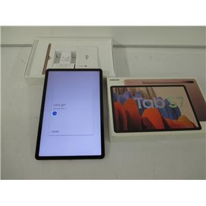 "Samsung  SM-T870NZNFXAR Tab S7 11"" 512GB With S Pen Wi-Fi - Mystic Bronze UNUSED"