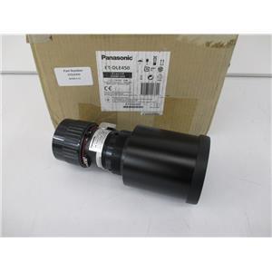 PANASONIC ET-DLE450 Power Zoom Lens For PT-6000 Series Projectors OPEN/UNUSED!