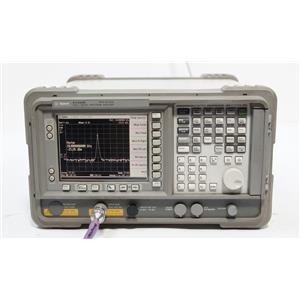 HP Agilent E4408B ESA-L 9 kHz to 26.5 GHz Spectrum Analyzer OPT B72 1D5 AX