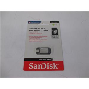 SanDisk SDCZ450-128G-A46 SanDisk 128GB Ultra USB Type-C Flash Drive - NEW