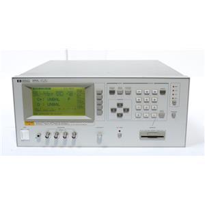 HP / Agilent 4284A Precision LCR Meter 20Hz-1MHz