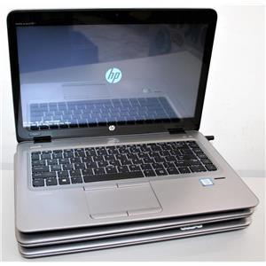"""3x Lot 14"""" Touch HP EliteBook 840 G3 Intel Core i5 6300u 2.4GHz 4GB 128GB READ!"""