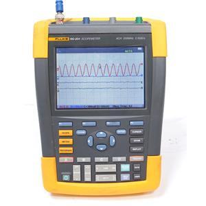 Fluke 190-204 4Channel Scopemeter 200MHz 2.5GS/s