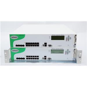 Pair of Radware Alteon AppDirector 1016 19338005 OnDemand Switch / Load Balancer