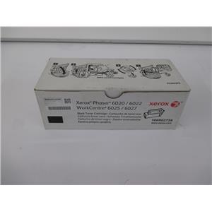 Xerox 106R02759 Black Toner Cartridge f/ Phaser 6022 & Workcentre 6027 Printers