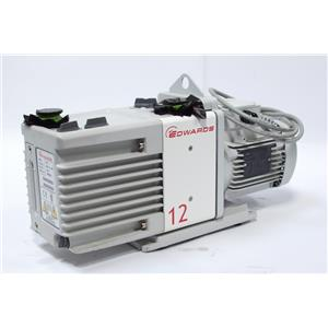 Edwards RV12 Rotary Vane Vacuum Pump 3 Phase A655-01-905