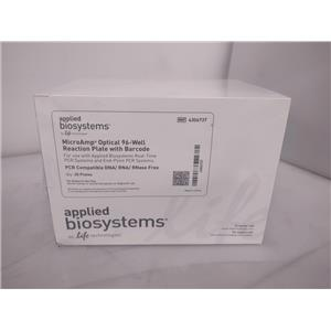 Applied Biosystems MicroAmp Optical 96-Well Reaction Plate with Barcode 4306737