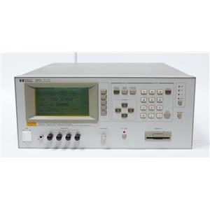 HP / Agilent 4284A Precision LCR Meter 20 Hz - 1 MHz