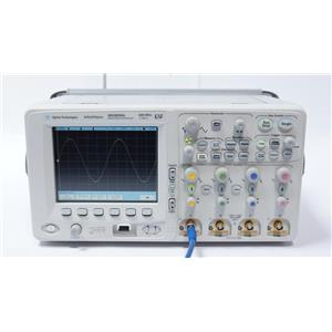 Agilent MSO6054A 500 MHz 4 + 16 Ch, 4 GS/s Mixed Signal Scope w/ Options