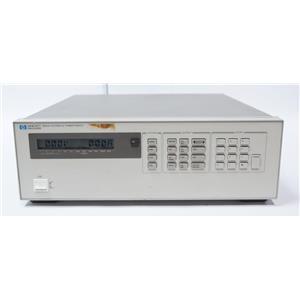HP 6624A System DC Power Supply 4-Channel 40W 2x20V 2x50V Max