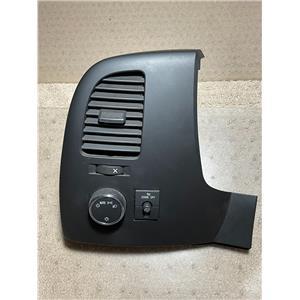 2007-2013 Chevrolet Silverado GMC Sierra Vent Light Dash Bezel Fog light Switch