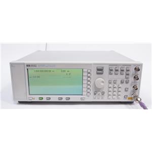 HP / AGILENT ESG E4400B 250 kHz to 1 GHz Analog RF Signal Generator