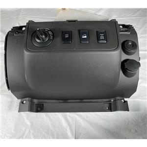2009-2012 Nissan Xterra Lower Instrument Panel Bezel 4WD VDC AUX Port