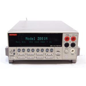 Keithley 2001 7.5 Digit 7 1/2 DMM Digit Multimeter
