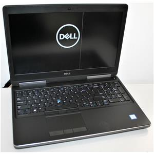 "15.6"" 4K Dell Precision 7520 i7 7th 8GB 256GB Intel & Quadro M2200 Dual Graphics"