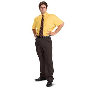 The Office Official Dwight Shirt Deluxe Adult Costume XXL 50-52