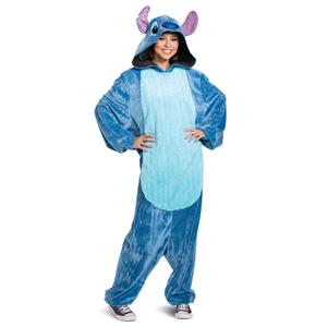Lilo and Stitch: Stitch Deluxe Adult Jumpsuit Pajamas Costume X-Large 42-46
