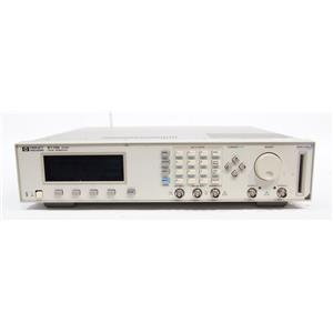 HP Agilent 8110A Pulse Pattern Generator 150 MHz AS-IS