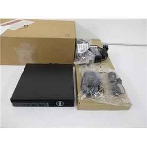 Dell 86D52 OptiPlex 3080 MFF i3-10105T 8GB 128GB W10P UNUSED w/WARR TO 2024