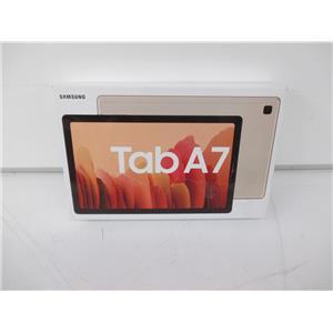 """Samsung SM-T500NZDAXAR 10.4"""" Galaxy Tab A7 32GB Tablet (Wi-Fi Only, Gold) - SEALED"""