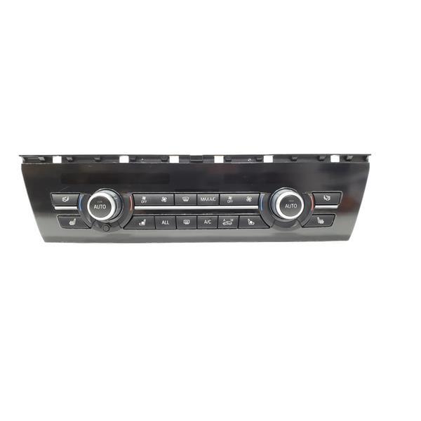 BMW 5 Series F10 OEM Dash Climate Control Heat AC Controls Heated & Cooled  Seats