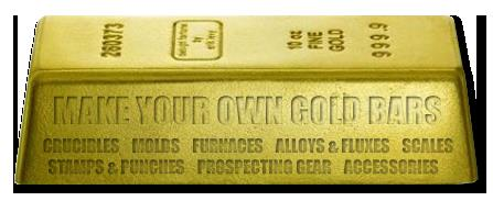 Make Your Own Gold Bars