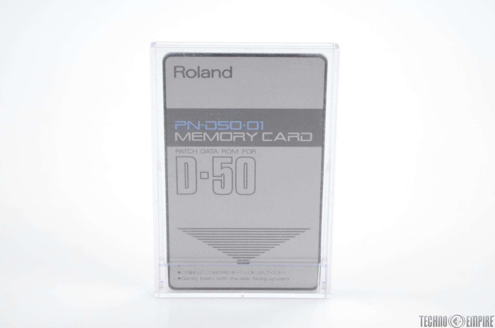 Roland PN-D50-01 Memory Card Patch Data ROM for D-50 w/ Case PND5001 #31116
